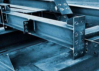 изготовление металлических колонн на заказ фото
