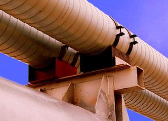 изготовление опор трубопроводов на заказ фото