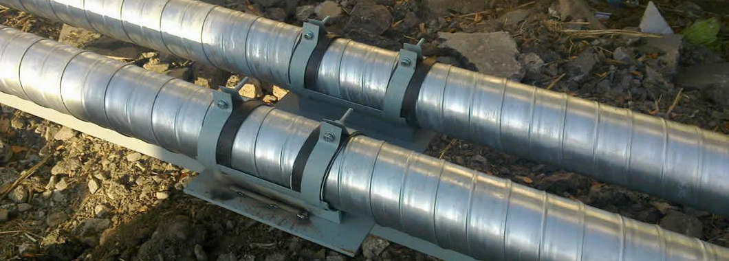 Виды опор трубопровода