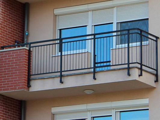 металлические ограждения балкон фото