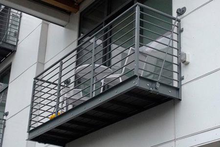ограждения балкон металл фото