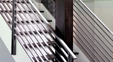 металлические перилла лестницы фото